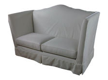 Banquettes benches and chaise Marc Miche
