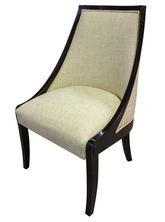 Accent Chair - Side Chair - Cream woven