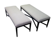 Banquettes benches and chaise Miami-2012
