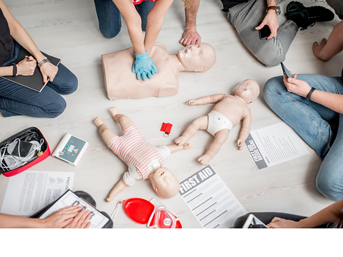 Adult and Infant CPR class