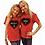 Thumbnail: Red Heart Short Sleeve T-Shirt Kit w/1 Marker (Youth)