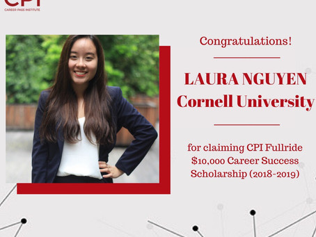 """CPI Full-ride Scholarship Recipient - The girl who """"shocked"""" the admission committee"""