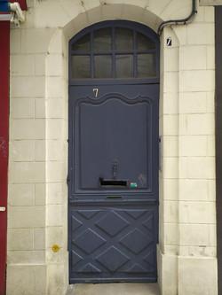 Porte d'entrée d'hôtel particulier