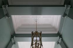 Décor de plafond de vestibule