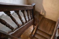 Escaliers à balustres en bois