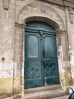 Hôtel Mauvif, portail sur rue