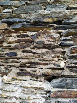 Mur de schiste angevin