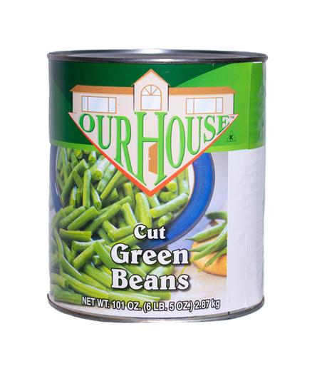 Cut Green Beans #10 can