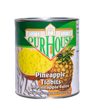 Pineapple Tidbits in Pineapple Juice #10 Can
