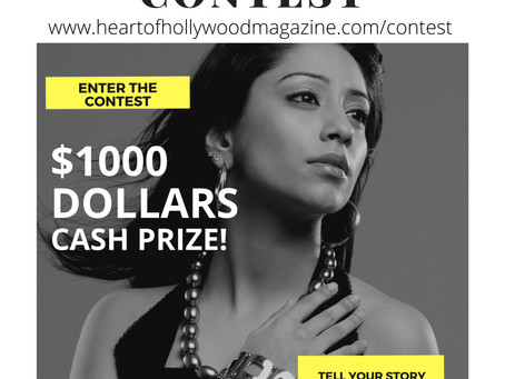 BE ON THE COVER OF HEART OF HOLLYWOOD MAGAZINE!