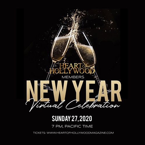 Heart Of Hollywood Members New Year Celebration