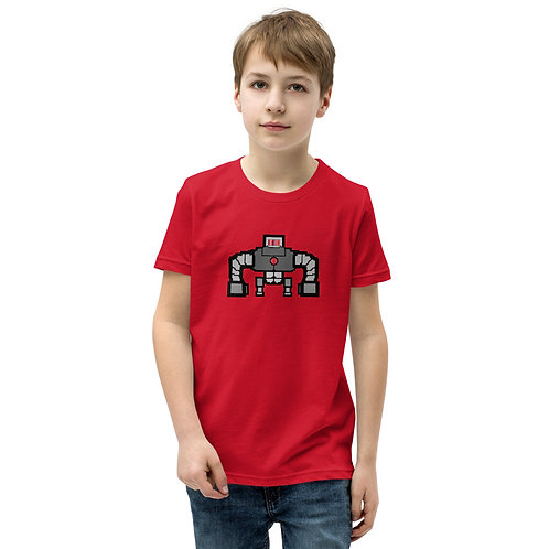 Pixel Art by Noble Collection - Youth Short Sleeve T-Shirt