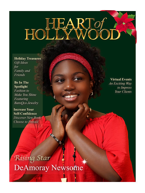Heart Of Hollywood Magazine December Print Issue 2020