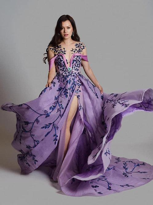Purple Rain by Fashion Designer Duc Nguyen