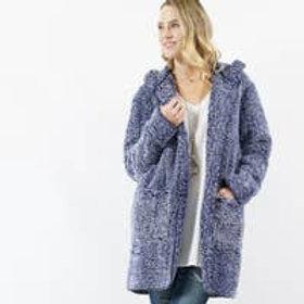 2Tone Sherpa Hoodie Jacket