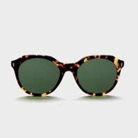 Libera bold geometric sunglasses