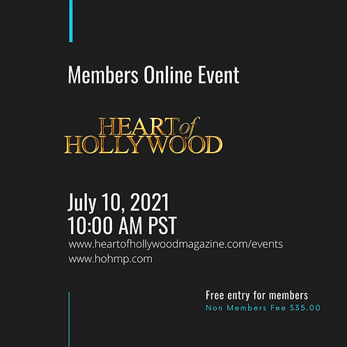 Heart Of Hollywood Members Event