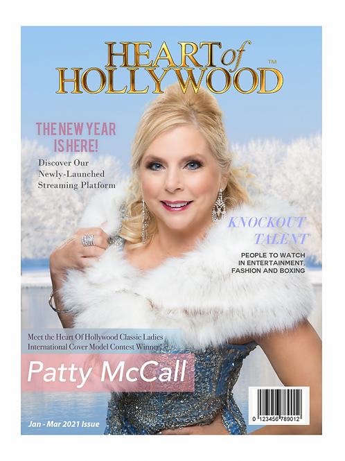 Heart Of Hollywood Magazine Jan - Mar Issue 2021