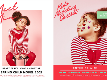 See Our Participants in the Winter Child Contest 2021!