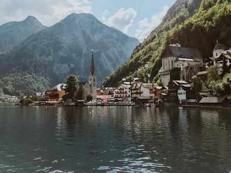 A perfect day in Hallstatt, Austria.