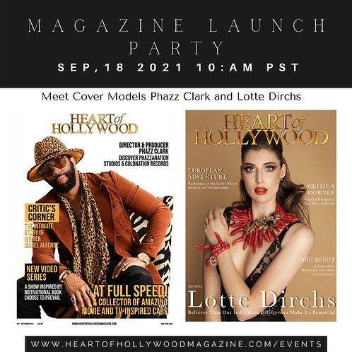 Heart Of Hollywood Magazine Summer Launch Party