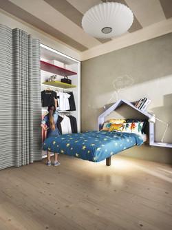 Porte tissu_LAGO_Chambre