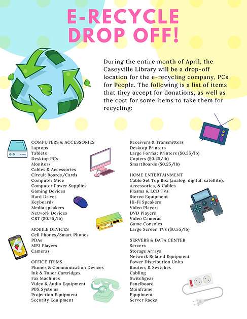 Copy of April Library Monthly Newsletter