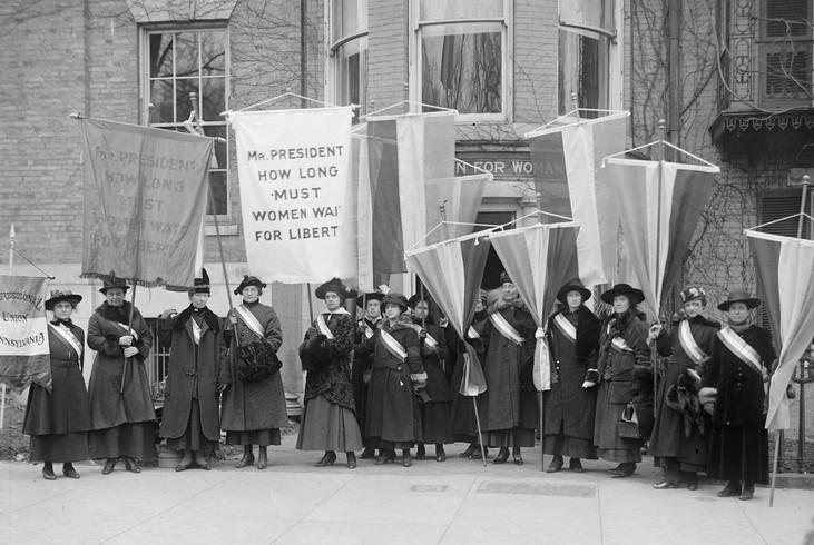 Women-suffragists-organization-headquart