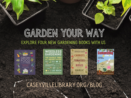 Garden Your Way: Explore Four New Gardening Books With Us