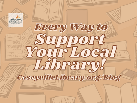 Every Way to Support Your Local Library