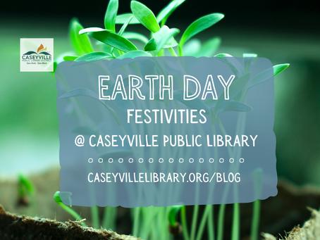 Earth Day Festivities @ Caseyville Library
