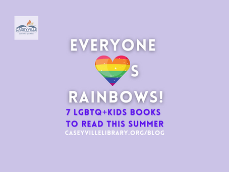 Everyone Loves Rainbows! Celebrate Pride Month With These Children's Books!