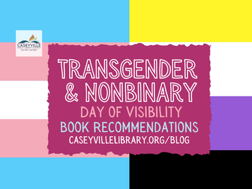 Books for Trans & Nonbinary Day of Visibility