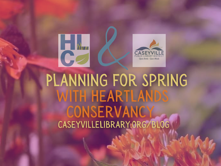 Planning for Spring with HeartLands Conservancy