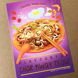 Char Kway Teow Postcard $3.90