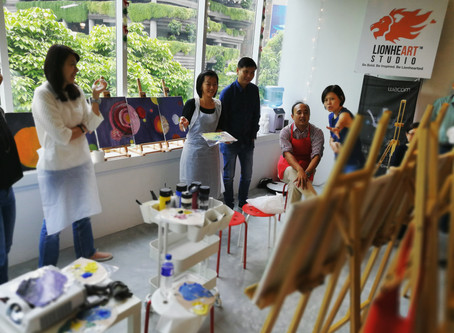 NUS Art Jamming event