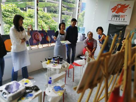 NUS Art Jamming event