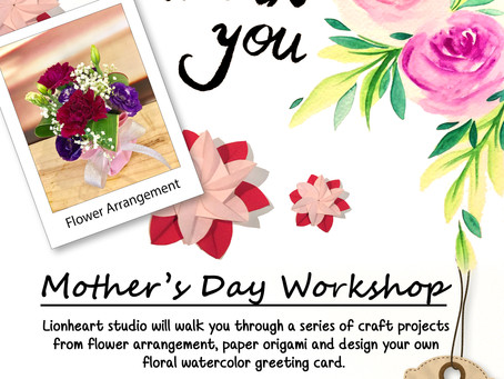 Handmake a personal Gift for our Mothers!
