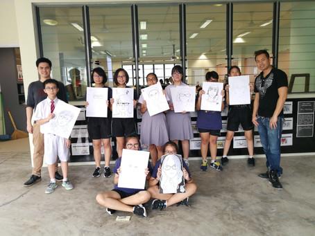 Lionheart Studio conducts Art workshops for Secondary Schools!