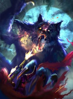 werewolf_speed_paint_by_dreadjim-d90otby