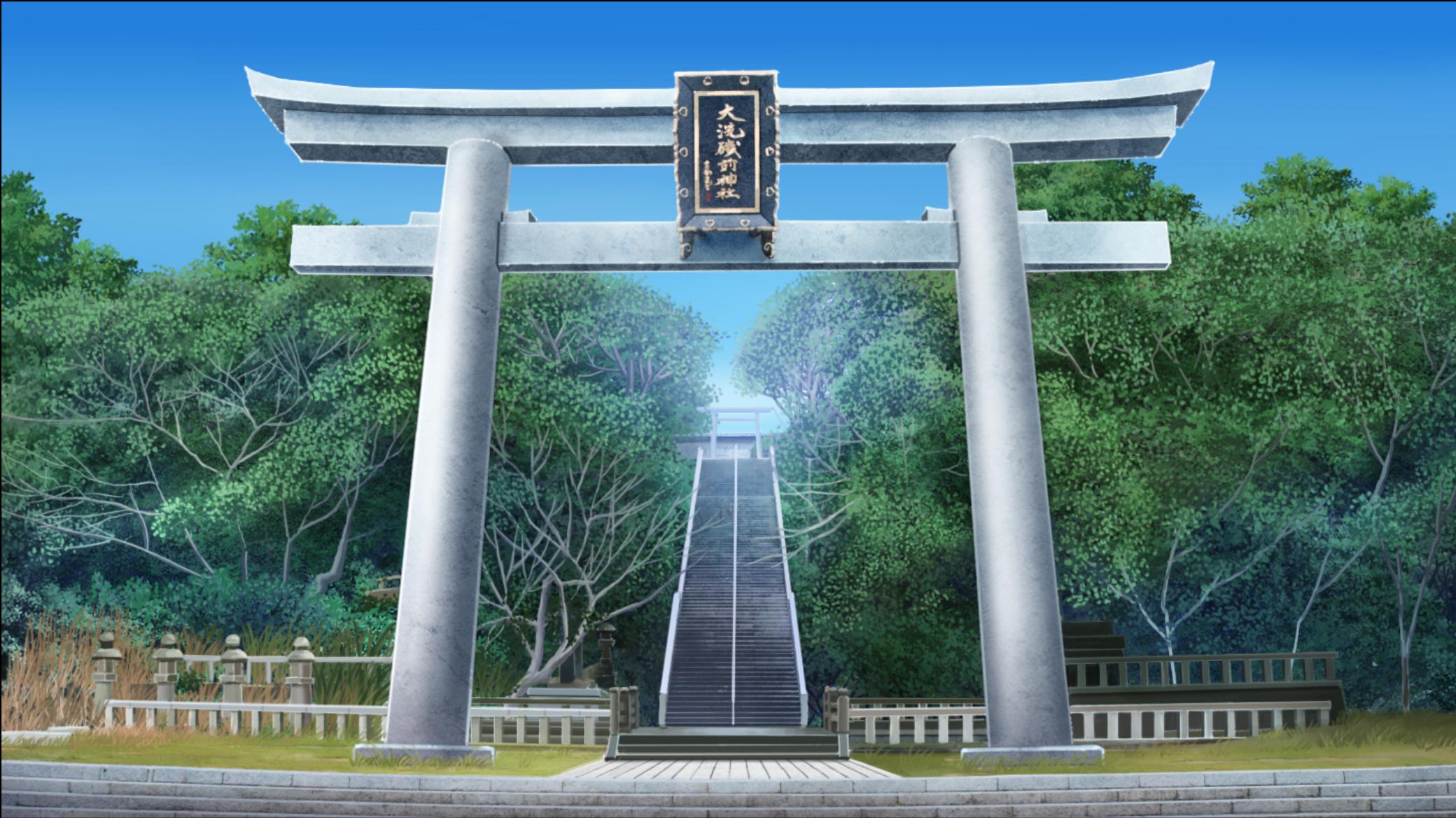 Realistic photo to anime style backgroun