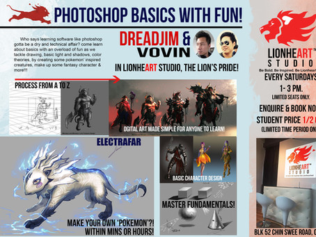 Photoshop Basics with Fun!