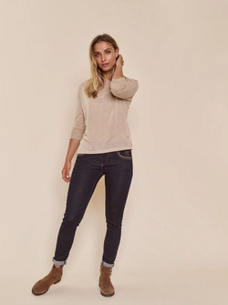 Mos Mosh AW21 Naomi Havely Hybrid jeans t.sin 2