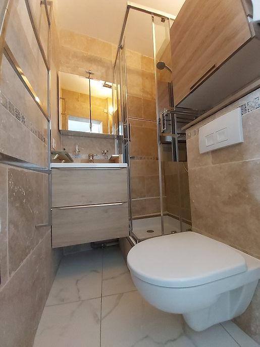 Studio Mulhouse salle de bain après rénovation