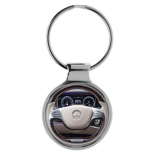 Geschenk für Mercedes S Klasse Fans Cockpit Schlüsselanhänger 10062