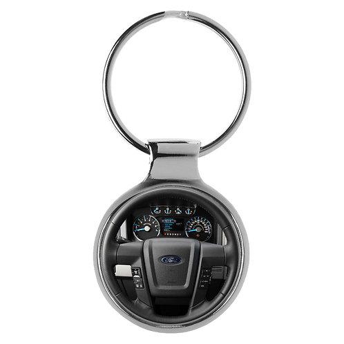 Geschenk für Ford F Fans Cockpit Schlüsselanhänger 20487