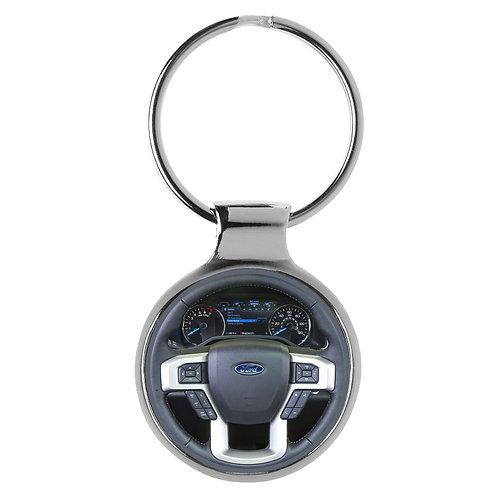 Geschenk für Ford F150 Fans Cockpit Schlüsselanhänger 20725