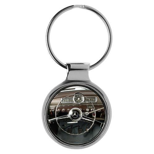 Geschenk für Mercedes W120/121 Fans Cockpit Schlüsselanhänger 20799