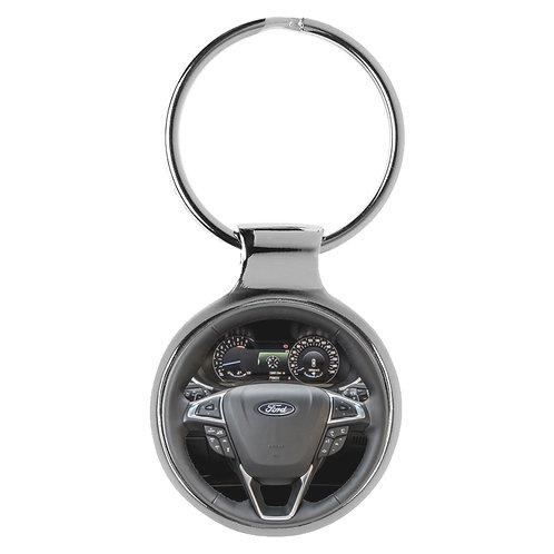 Geschenk für Ford Edge Fans Cockpit Schlüsselanhänger 20946