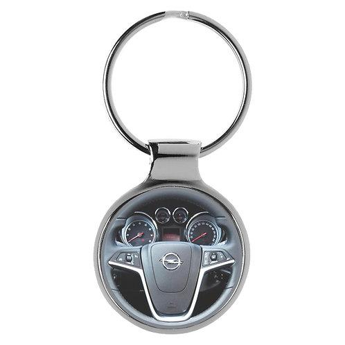 Geschenk für Opel Astra Fans Cockpit Schlüsselanhänger 10041